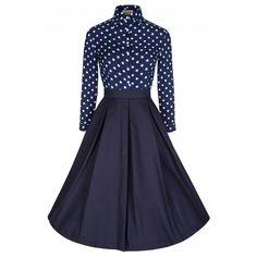 Little Wings Factory - Lindy Bop 'Sylvia' Polka Dot Dress, £38.00 (http://www.littlewingsfactory.com/lindy-bop-sylvia-polka-dot-dress/)
