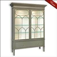 Bella_Display_Cabinet 7286 from old bis anyone Designs.  might be OK for China cabinet.