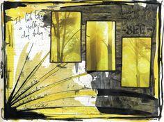 COLOR: b/w yellow