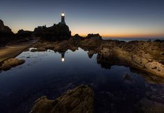 Let there be light by James Roughley on 500px (Corbiere Lighthouse In Jersey Channel Islands)