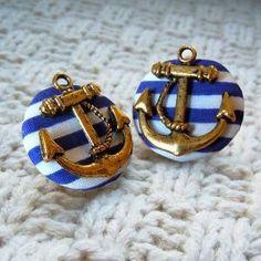 Cute anchor earrings | Carolina Prep