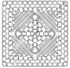 5 diagramas crochet de grannys fa-bu-lo-sos | Todo crochet