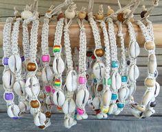 Hemp Anklet, Made To Order, Shell Anklet, Beach Anklet, Cowrie Shell Jewelry, Beaded Anklet, Hemp Anklets. $7.95, via Etsy.