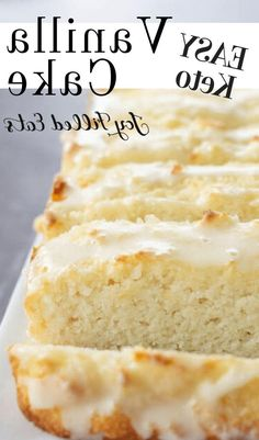 Imagine a cake thats moist flavorful perfectly sweet and is drizzled in a delightful glaze. And this sugar free treat is one of my best. Thats precisely what you get when you make this Keto Vanilla Cake! Perfect for birthday parties dinners and any other occasion you can think of. This easy recipe is low carb keto gluten free grain free sugar free and Trim Healthy Mama friendly. Dessert is my favorite meal. ...keep you from beating a path to the vending machine at work.And if your favorite…
