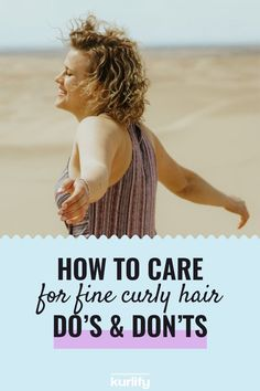 With fine curly hair, care is the most important thing. Because the better the condition of your hair, the more resilient the curls will be. In this article, we'll share how to care for fine curly hair. | fine curly hair tips - fine curly hair tips natural - fine curly hair routine - fine curly hair products - fine curly hair products curls - fine curly hairstyles natural curls - cg method