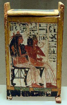 Shabti box of Nakhtamun  Period: New Kingdom, Ramesside Dynasty: Dynasty 19 Date: ca. 1295–1185 B.C. Geography: Egypt, Upper Egypt; Thebes, Deir el-Medina (Deir el-Medineh), Tomb of Nakhtamun (TT 335) Medium: Wood, paint