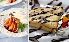 Nutela on Crepes