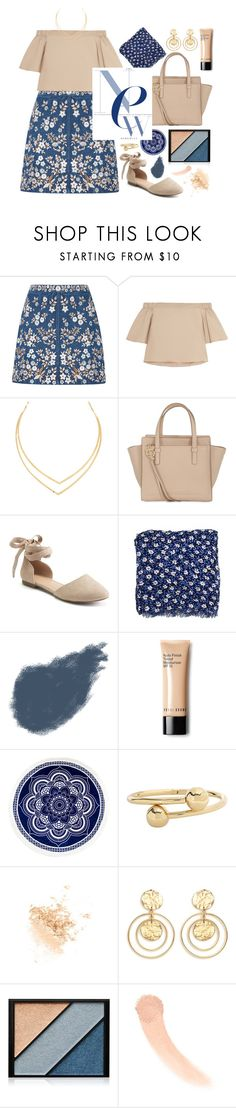 """""""mellow"""" by dffn-dn ❤ liked on Polyvore featuring Needle & Thread, TIBI, Lana, Salvatore Ferragamo, Apt. 9, Patricia Nash, Clé de Peau Beauté, J.W. Anderson, Topshop and Kenneth Jay Lane"""