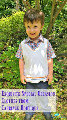 Exquisite Special Occasion Clothes from Carriage Boutique #AD | The Mama Maven Blog