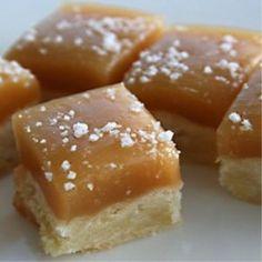 Salted Caramel Shortbread Bites