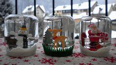 Idée bricolage de Noël facile : des boules à neige