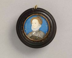 Portrait of Jane Boughton, 1574 Nicholas Hilliard  born Exeter, England, 1547; died London, England, 1619 gouache and watercolour on vell...