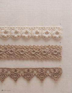 Häkeln Bordüre Spitzen Breit - crochet border Ivelise Hand Made: Barradinhos Lindos In Crochet