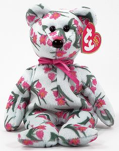 Joaquim Ty Beanie Baby bear reference information and photograph. Rare Beanie Babies, Original Beanie Babies, Beanie Baby Bears, Ty Beanie Boos, Ty Stuffed Animals, Plush Animals, Ty Bears, Ty Babies, Ty Toys