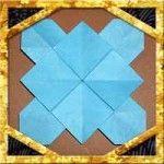 折り紙のあじさい(紫陽花)の折り方!1枚で立体的な作り方