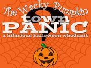 The Wacky Pumpkin Town Panic - a Fun Halloween Whodunit - Instant Download