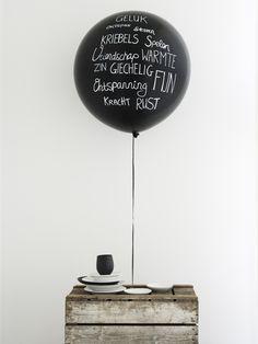 Style: Blackboard Big Balloons   Pearl and Earl Loves.. Blog