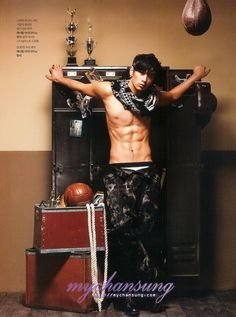 2PM's Chansung (찬성) for Men's Health Magazine