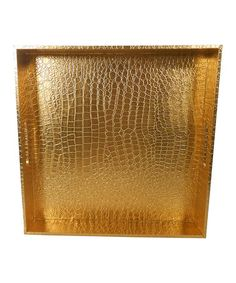 Gold Tray #zulily #zulilyfinds