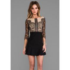 Three Floor x REVOLVE Shades of Black Dress