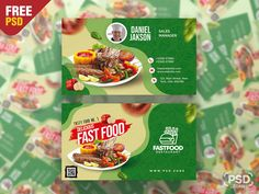 Hello everyone. This is a Free Restaurant Business Card PSD Template. This Restaurant Business Card PSD Template is perfect for any kind of food industry like a restaurant, bar, hotel, cafe shop etc. Fast Food Restaurant, Restaurant Bar, Tasty, Yummy Food, Cafe Shop, Free Business Cards, Food Industry, Psd Templates, Hello Everyone