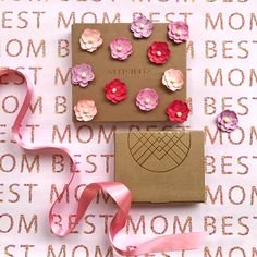 """If an """"I ❤️ Mom"""" tattoo isn't your MO...Make her day by giving the unique gift of personal style."""
