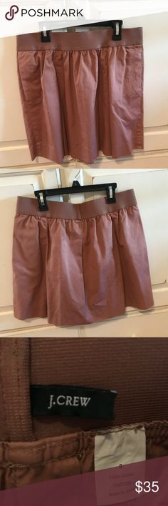 J.Crew Brown Skirt Barely worn J. Crew Skirts A-Line or Full