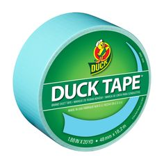 Color Duck Tape® - Frozen Blue http://duckbrand.com/products/duck-tape/colors/standard-rolls/icy-blue-188-in-x-20-yd?utm_campaign=color-duck-tape-general&utm_medium=social&utm_source=pinterest.com&utm_content=color-duct-tape