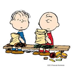"Charlie Brown: ""I think lunchtime is about the worst time of day for me."""