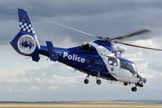 Victoria Police (CHC Helicopters Australia) Eurocopter AS-365N-3 Dauphin 2 Vabre.jpg