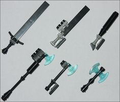 LEGO Weapons - Melee