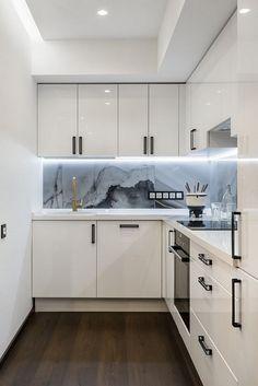 50+ White Kitchen Ideas Small_63