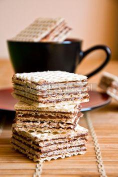Sweet Desserts, No Bake Desserts, Dessert Recipes, Polish Desserts, Polish Recipes, Sandwich Cake, Sweet Tooth, Sweet Treats, Cooking Recipes