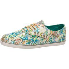 #Schnürschuhe mit #Blütenmuster ab 59,95 € Hier kaufen: http://stylefru.it/s380007 #tropical