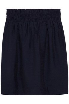 You can never have too many navy skirts.