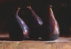 Daily paintings | Three figs | Postcard from Provence