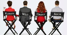 Will and Grace Revival Poster Reunites the Cast -- Debra Messing, Erin McCormack, Megan Mullalley, and Sean Hayes are all back for new episodes of Will and Grace. -- http://tvweb.com/will-and-grace-2017-season-9-poster-cast/