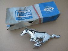 NOS 1965 1966 Ford Mustang Grille Emblem C5ZZ-8A224-A
