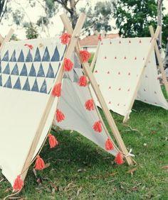Homemade tent