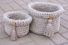 """Crocheted bags """"Queen"""""""