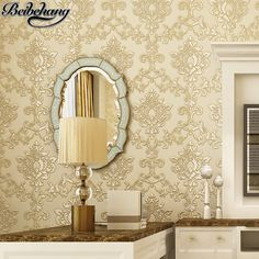 Cheap papel de parede, Buy Quality de parede directly from China papel de Suppliers: beibehang Luxury European 3D stereo carving fine pressure non - woven wallpaper living room background walpaper papel de parede