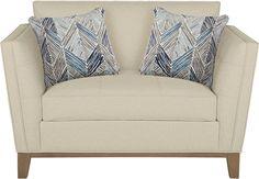 Cindy Crawford Home Park Boulevard Beige Chair-Chairs (Beige)