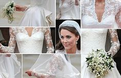 - We are really into the history of lace - A lot of our clients take inspiration from Kate Middletons wedding dress