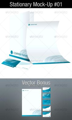 Stationary Mock-Up - Stationery Mockup Template by Graphic Design Templates, Print Templates, Letterhead Design, Beauty Photos, Best Graphics, Presentation Templates, Mockup, Stationary, Photoshop