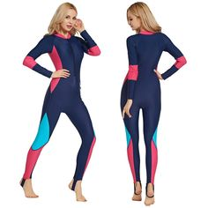 5cca50ad3b One Piece Swimsuit Rash Guard Women Swimwear Long Sleeve Surfing Sailing  Full Suits Swimsuit Wetsuits Diving 2018 CO [orc32944009866] - $50.94