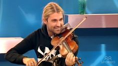 David Garrett is a guest on 'Loose Women' talking about his new album 'Virtuoso'. Shown on ITV.