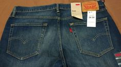 Check out NWT Levis 541 jeans size 34x34 New Athletic Fit  #Levis #Athleticfit http://www.ebay.com/itm/-/262872659635?roken=cUgayN&soutkn=oi9Qy0 via @eBay