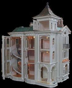 Dolls House Diy Miniature Ideas For 2019 Miniature Rooms, Miniature Houses, Miniature Furniture, Doll Furniture, Dollhouse Furniture, Dollhouse Interiors, Victorian Dolls, Victorian Dollhouse, Diy Dollhouse
