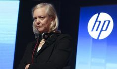 Meg Whitman, president and chief executive officer of Hewlett-Packard, has announced plans to split the company.