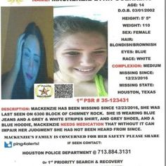 MISSING TEEN – PLEASE SHARE